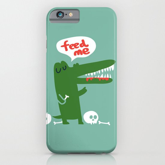 Hungry Hungry Alligator iPhone & iPod Case