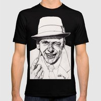 Frank Mens Fitted Tee Black SMALL