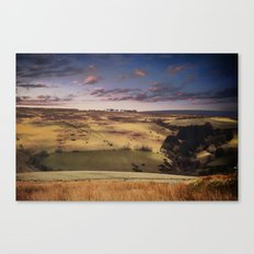 Evening on the moors Canvas Print