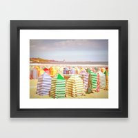 Escondidos En El Cambiad… Framed Art Print