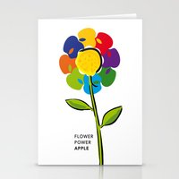 Flower Power iPhone 4 5 6, ipod, ipad case Samsung Galaxy Stationery Cards