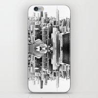 Mirror City iPhone & iPod Skin