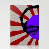 Rising DJ Stationery Cards