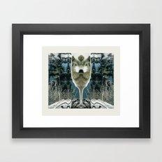 WOLFLOW Framed Art Print