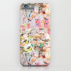 Abstract Springtime Watercolor Pattern iPhone 6s Slim Case