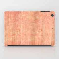 Stockinette Orange iPad Case