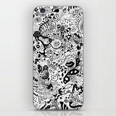 cute graphite  iPhone & iPod Skin