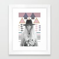 Alpha Framed Art Print