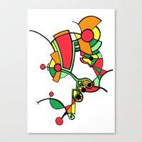 Print #10 Canvas Print