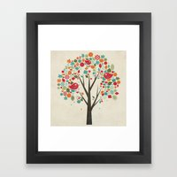 Home Birds Framed Art Print