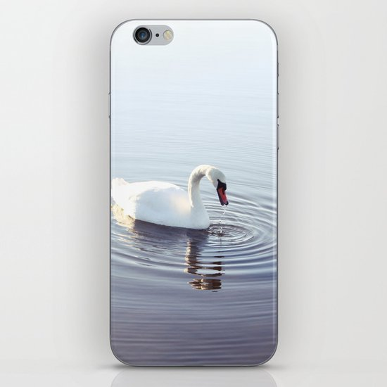 the beautiful swan iPhone & iPod Skin