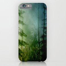 Blue pines iPhone 6 Slim Case