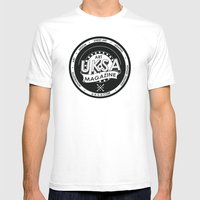 UKSA #1 Mens Fitted Tee White SMALL