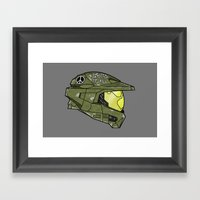 Augmented To Kill Framed Art Print
