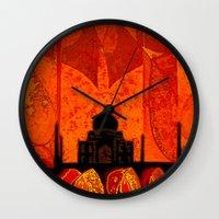 Taj Mahal Wall Clock