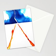 Marty, we have to go back! Stationery Cards