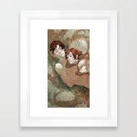 Let Us Go Then Framed Art Print