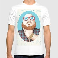 Action Bronson Mens Fitted Tee White SMALL