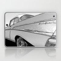 Chevrolet Bel Air 1957 - Pencil Sketch Style Laptop & iPad Skin