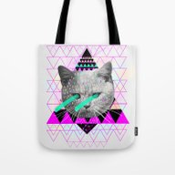 Tote Bag featuring Pastel  by Kris Tate