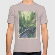 Mountain Of Solitude Mens Fitted Tee Cinder SMALL