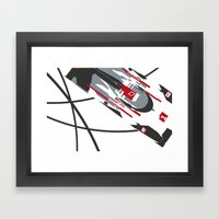 E-tron Framed Art Print