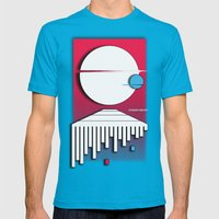 Orbit Mens Fitted Tee Teal SMALL