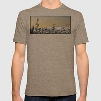 Locals Only - Los Feliz Mens Fitted Tee Tri-Coffee SMALL