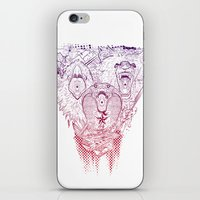 Open Wide! iPhone & iPod Skin