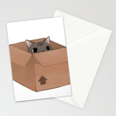Box Cat Stationery Cards