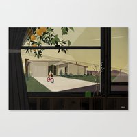 Bikes Are For The Summer Canvas Print