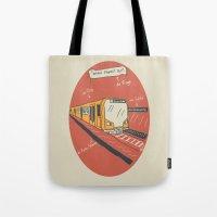 U-BAHN  Tote Bag