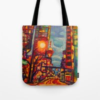 Harbour West, Vancouver Tote Bag