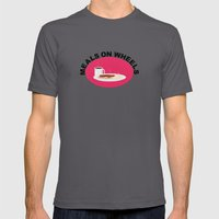 Meals On Wheels Mens Fitted Tee Asphalt SMALL