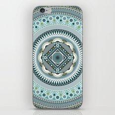Blue Mandala iPhone & iPod Skin