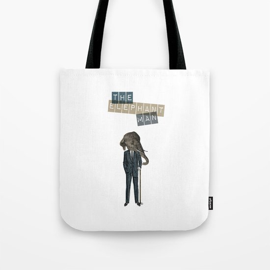 The elephant man Tote Bag