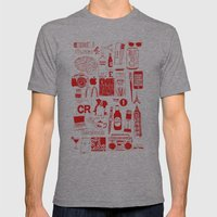 Graphics Design student poster Mens Fitted Tee Athletic Grey SMALL