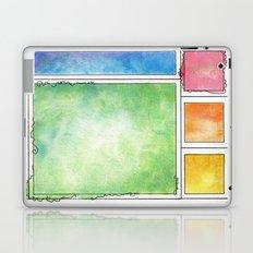 Rainbow Mondrian Laptop & iPad Skin