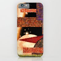 iPhone & iPod Case featuring CITY BY MOON LIGHT - 001 by Lazy Bones Studios