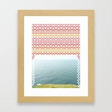 AZTEC 'Beyond The Sea' 1-1 Framed Art Print