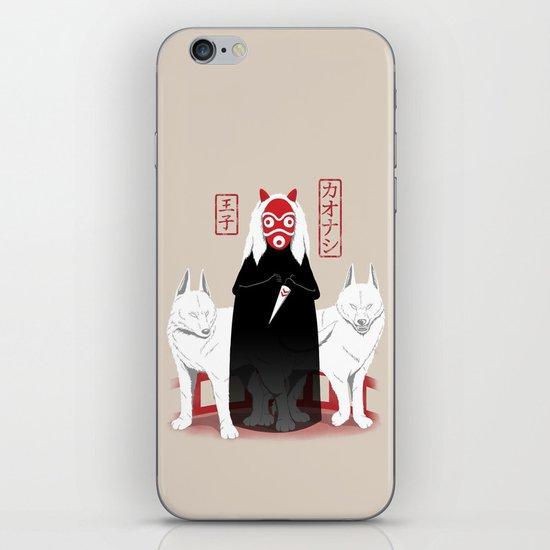 Ouji Kaonashi iPhone & iPod Skin