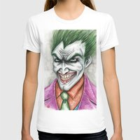 joker T-shirts featuring Joker by rchaem