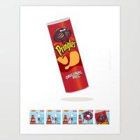 Mec Pringles! Art Print