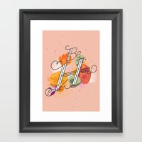 The Reminder Framed Art Print