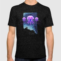 Samus And The Metroid Mens Fitted Tee Tri-Black SMALL