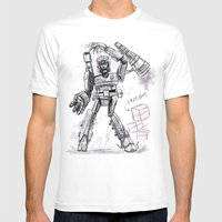 Megatron Contest Weirdo Mens Fitted Tee White SMALL