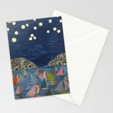 night sailing Stationery Cards