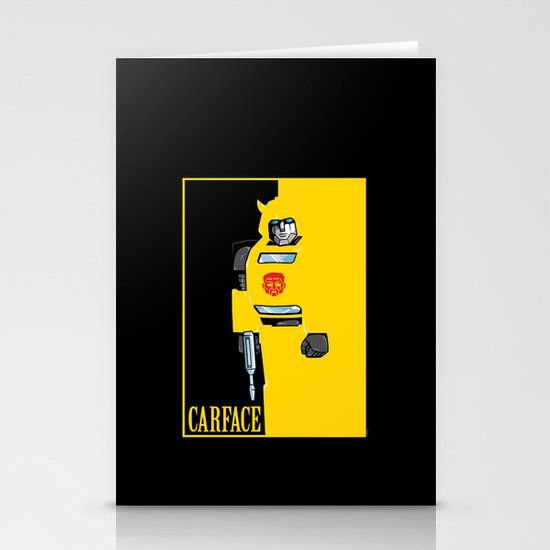 Carface Stationery Card