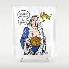 Ric Flair, THE MAN! (WWE, WWF, WCW, NWA) Shower Curtain