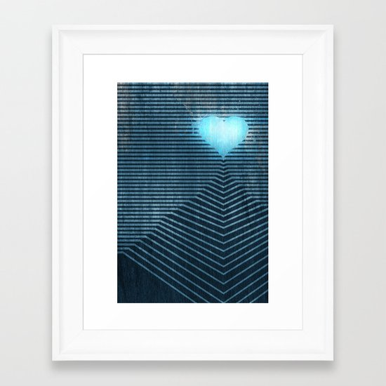 Temple of the Heart Framed Art Print